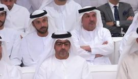 Our Chairman H.E. Nasser M. Al Shamsi at Majlis Mohamed bin Zayed