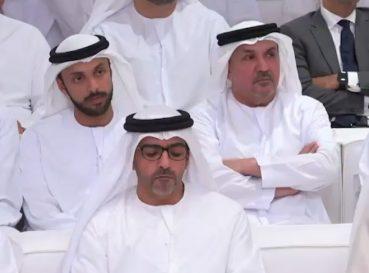 Our Chairman H.E. Nasser M. Al Shamsi at Majlis Mohamed bin Zayed